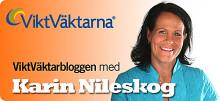 ViktVäktarnas kost- och utbildningschef Karin Nileskog bloggar om hälsa, mat och vikt på Ica Kurirens hemsida