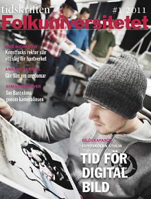 Intervju med Konstfacks rektor i Tidskriften Folkuniversitetet