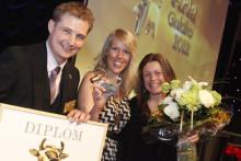 """Barista vinnare Guldkon """"Bästa Miljöarbete 2012"""""""