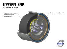 Volvo Personvagnar testar svänghjulsteknik - minskar bränsleförbrukningen med upp till 20 procent