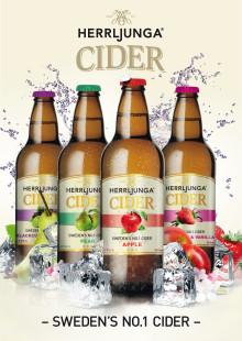 Herrljunga Cider lanserar efterlängtade nyheter