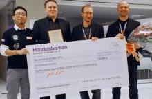 Studenter från Högskolan i Halmstad vann första pris i Swedish Embedded Award