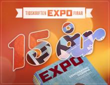 Tidskriften Expo firar 15 år