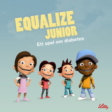 Equalize Junior – nytt dataspel om diabetes för de minsta