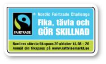 Rekordmånga fikar Rättvisemärkt - det här händer i Karlstad