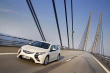 Fem stjärnor i Euro NCAP för Opel Ampera