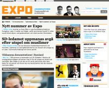 Expo lanserar ny sajt