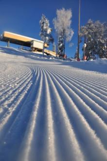"""Tio pister och fem """"längdkilometer"""" med riktigt bra snö på Kläppen Ski Resort i Sälen"""