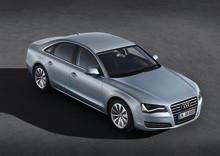 Effektiv rakt igenom: Audi A8 hybrid