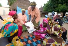 Bekämpa malaria med nät och upplysning