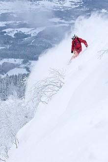 Rekordmycket snö i Hemsedal