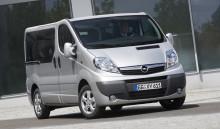 Opel Vivaro: Ännu bättre ekonomi, komfort och trygghet