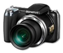 Olympus SP-810UZ minste kompaktkamera innom kategorien 30x zoom**