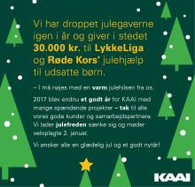 KAAI ønsker glædelig jul og et godt nytår