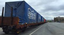Älvsbyhus levererade sitt 40 000:e hus med Green Cargo