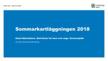 Sommarkartläggning 2018