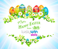 Happy Easter from LuckyWinSlots.com!