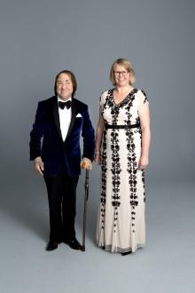 Värdparet laddar upp inför Riksförbundet FUB:s världsunika gala Störd och Stolt