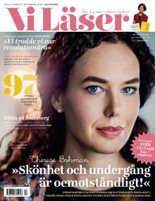 Vi Läser nr 4 2016: Therese Bohman, Deon Meyer och Hjalmar Söderberg