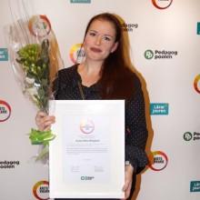 """Kajsa-Stina Berglund 24 år (Helsingborg) får priset """"Årets Förskoleprofil"""" för sina insatser inom förskola"""