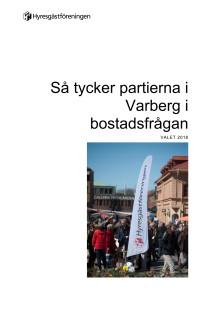 Så tycker politikerna i Varberg i bostadsfrågan