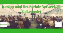 Her kan du møde Det Sociale Netværk/headspace Danmark på årets folkemøde