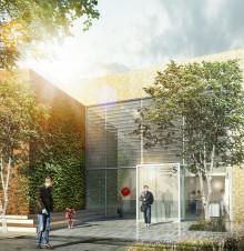Sammen med KPC og Balslev vinder Arkitema OPP-projekt om et Center for Stråleterapi