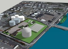 Miljötillstånd beviljat för LNG-terminal i Göteborg