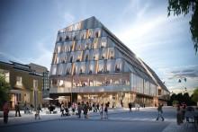 Beviljat bygglov för Växjö station och kommunhus