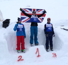 Lloyd Wallace wins GB's first gold medal at the Europa Cup
