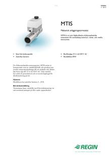 Produktblad för MTIS