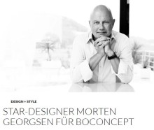 Star-Designer Morten Georgsen für BoConcept