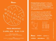 Välkommen på pressträff under Milan Design Week