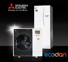 Uuden sukupolven ilma-vesilämpöpumppu Mitsubishi Electriciltä