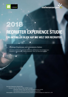 Executive Summary Recruiter Experience Studie 2018