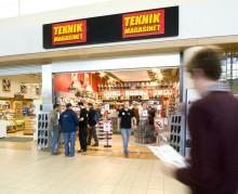 Teknikmagasinet kasvaa Suomessa ja avaa kolmannen myymälän Espoon Isoon Omenaan.