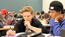 Hjälp med matteläxan lockar många gymnasieelever till Högskolan Väst