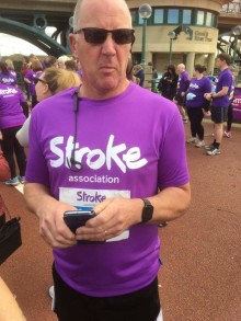 Darlington resident calls on North East residents to Walk Your Way for the Stroke Association