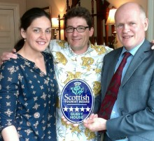 Edinburgh guest house reaches for the stars