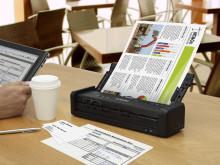 Epson lanserer markedets raskeste bærbare forretningsskannere