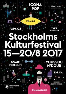 Pressmaterial Stockholms Kulturfestival 2017