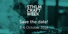 Stockholm Craft Week 3 - 6 October 2019