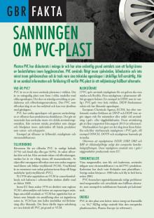 Fakta om PVC-golv