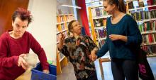 Vi vill bidra:  Inbjudan till fotoutställning på Mora bibliotek om inkludering i arbetslivet