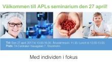 Inbjudan till APLs årsstämma med seminarium den 27 april 2017