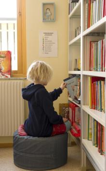 Treårigt projekt ska främja förskolebarns läsvanor