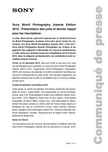 Communication de presse_SWPA 2015 Jury_F-CH_141210