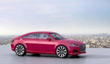 Audi præsenterer konceptbilen Audi TT Sportback concept i Paris