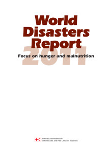 Rapport - World Disasters Report 2011