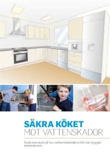 Vattensäkra lösningar för kök visas på Nordbygg